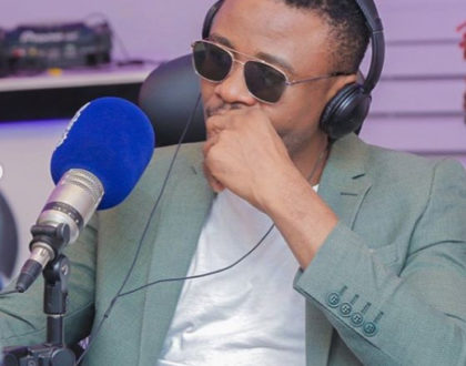 Ali Kiba storms out of interview after being asked about his wife, Amina Khalef