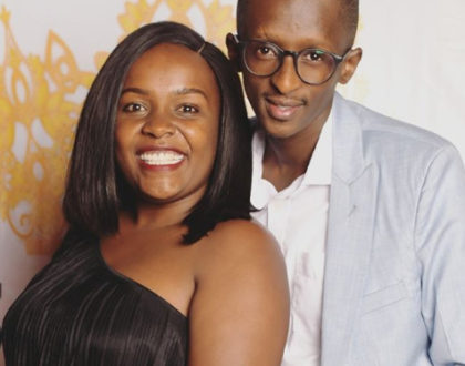 Blessings galore! Comedian Njugush and wife flaunt their soon-to-be new home