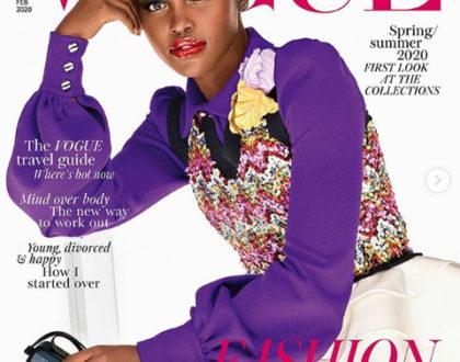 Lupita Nyong´o stars as the cover girl of powerful British magazine