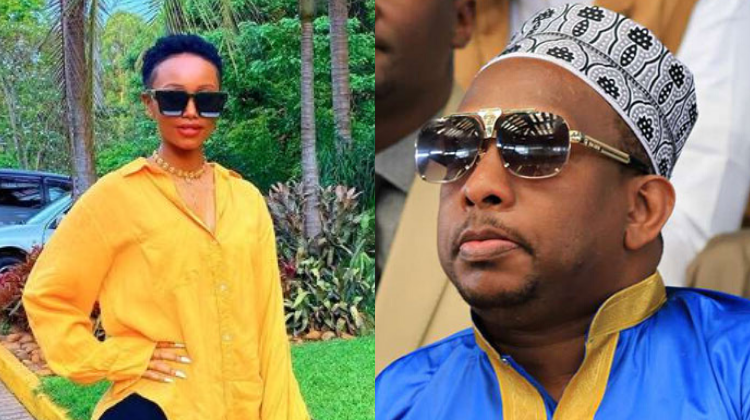 ¨Pull down all alcohol and cigarette ads for condom ads¨ Huddah Monroe pleads with Governor Sonko