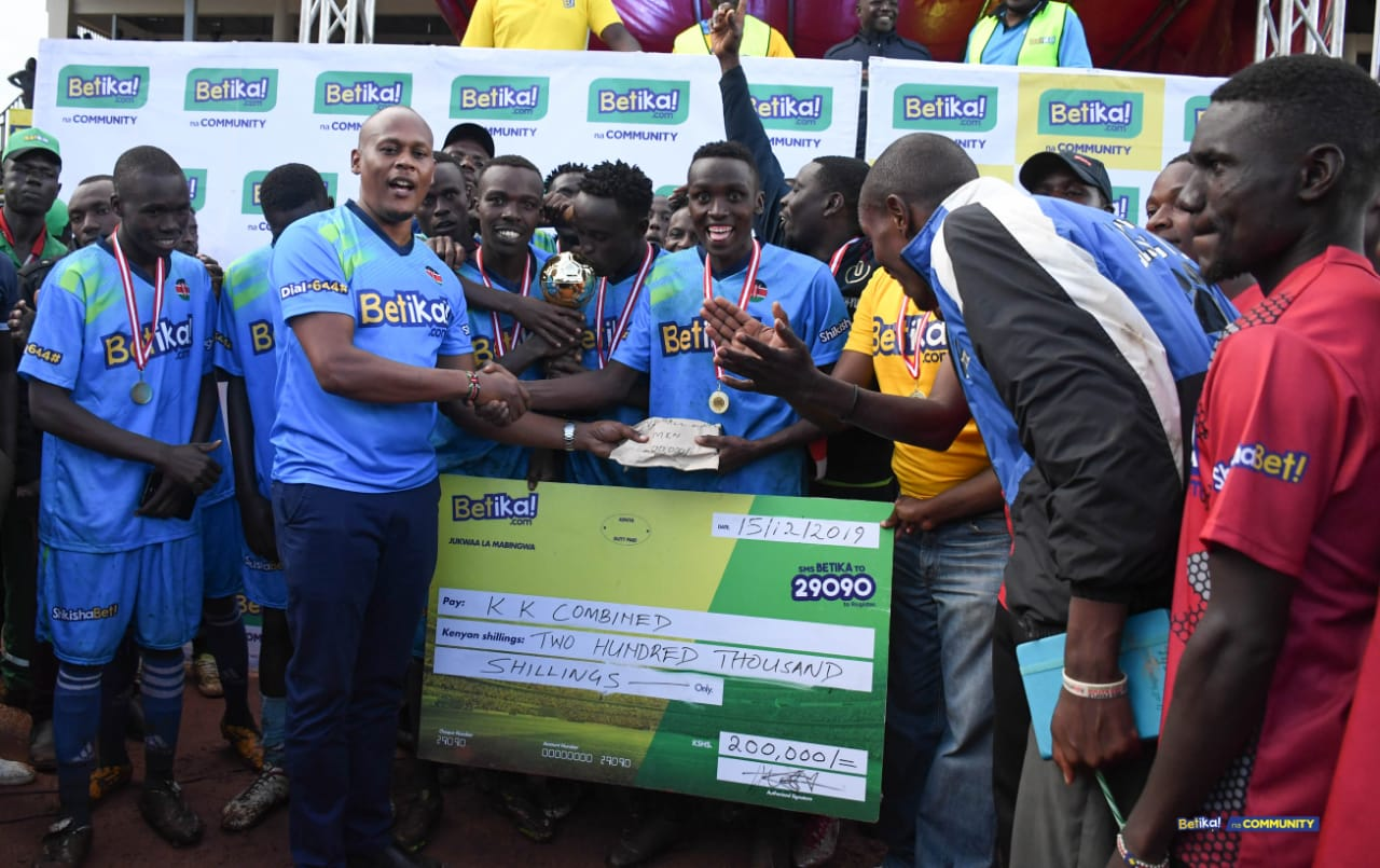 KK Combined FC and Gusii Starlets crowned Betika Na Community Kisii Champions