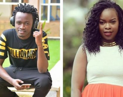 Bahati and baby mama, Yvette Obura in a tussle over their daughter´s upbringing [video]