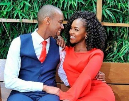¨A rare picture of true love on Kenyan soil!¨ Waihiga Mwaura and Joyce Omondi´s intimate moment lights up the Internet