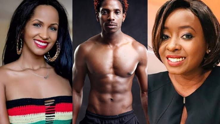 Retirement benefits! Eric Omondi gracefully hangs out with ex, Chantal and baby mama, Jacque [video]