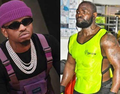 Diamond Platnumz and his former bodyguard, Mwarabu Fighter finally reconcile