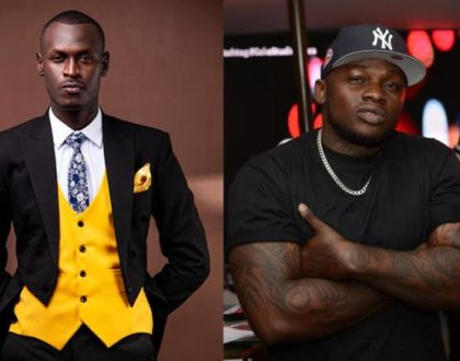 A man of his word! Rapper Khaligraph shows up at King Kaka´s concert as his security
