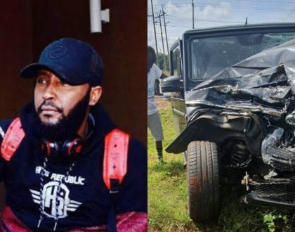 ¨I have realized life is very precious¨ a shaken Shaffie Weru admits after terrible car crash