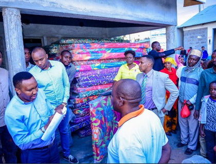 """My colleague, Hon. Babu Owino, will benefit from one!"" Jaguar throws shade at Babu Owino after donating heavy duty mattress at Industrial Area prison"
