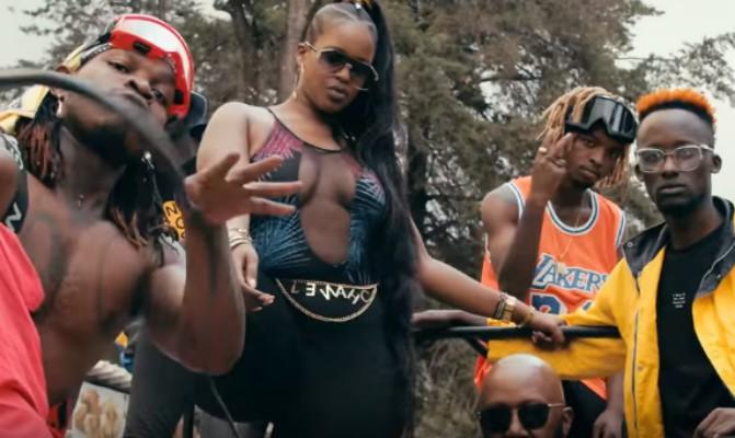 Ex Ray, Magix Enga, Timmy, Kristoff, Jua Cali and Harry Craze drop highly-anticipated jam 'Nyoka Ya Shaba' (Video)
