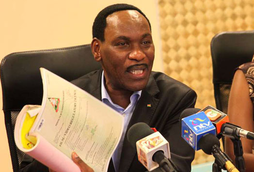 Dr Ezekiel Mutua honors invite to grace the much popularized ¨Men´s Conference¨ in Kenya set for Valentine´s Day