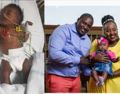 ¨My daughter had a tumor in her tummy that saw her undergo 2 major surgeries¨ Producer Milly Chebby opens up