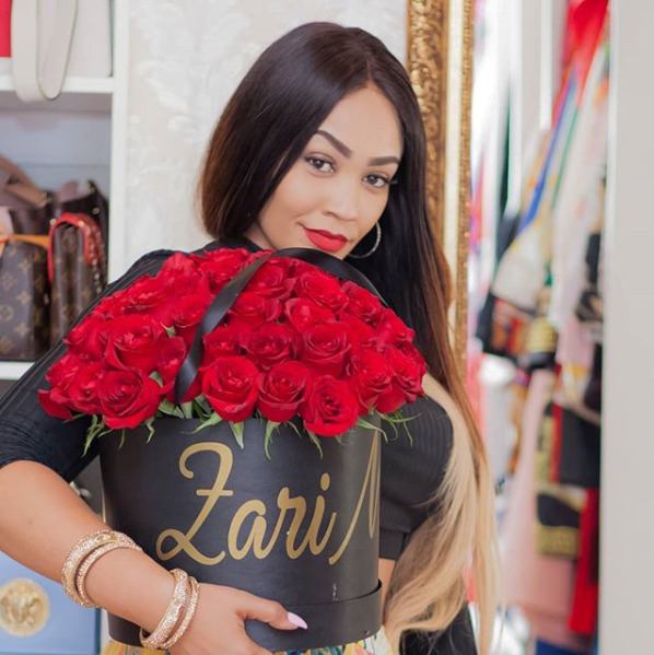 """""""Don't rely on someone else for your happiness and self-worth"""" Zari sends heartwarming Valentine's Day message to fans"""