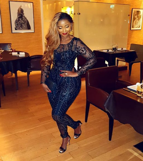 Anerlisa Muigai´s birthday dinner attire that got fans talking [photos]