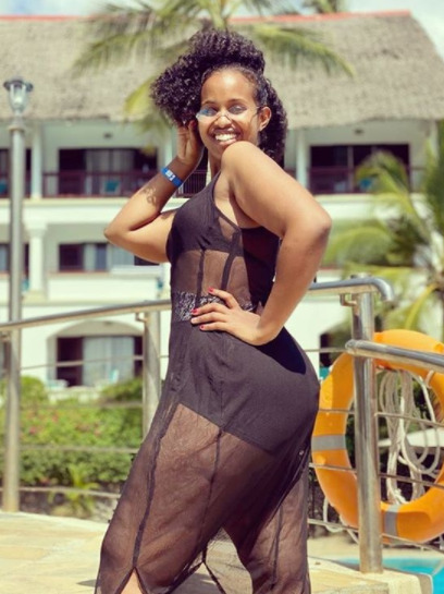 Amina Mude´s bikini body becomes the envy of many [photos]