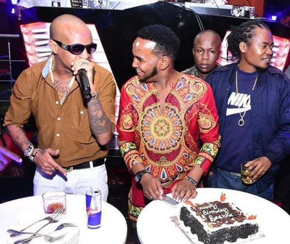 Legendary rapper, Prezzo, throws a star-studded celebrity-filled birthday party as he hits 40