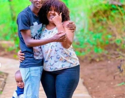 ¨Kuna kitu ndani ya oven¨ Hilarious guesses after comedian Njugush reveals they are expecting blessings