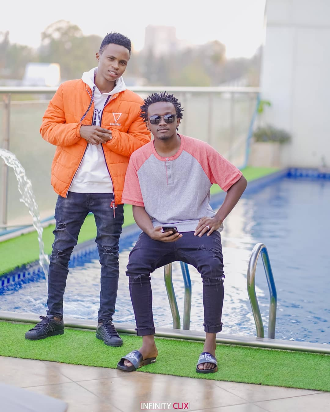 Bahati and Peter Blessing