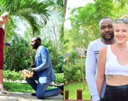 ¨Hongera sana ustadh¨ Congratulations are in order as KTN lead reporter goes down on one knee