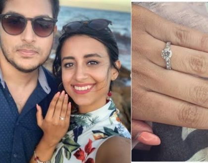 ¨I can't wait to annoy you for the rest of our lives¨ K24 news anchor´s cheeky message after her engagement