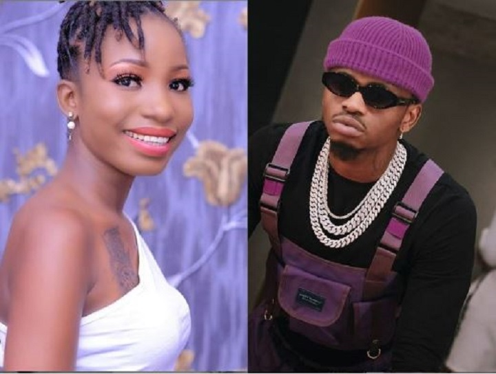 Tanzanian songbird, Hawa Ntarejea explains Diamond Platnumz´s tattoo on her chest
