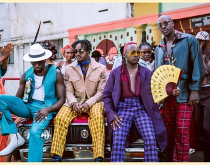 Alone Together: Sauti Sol members take a break from each other