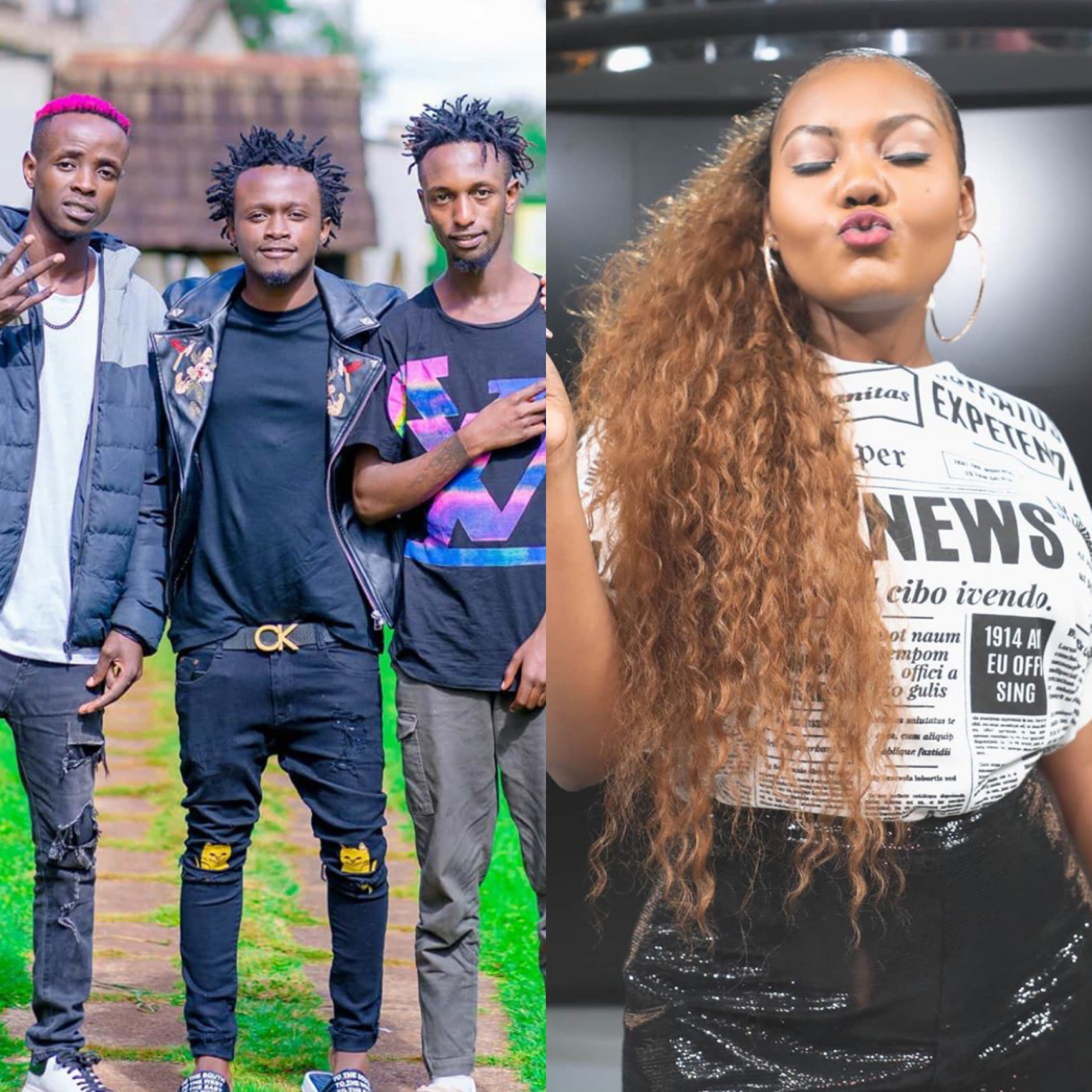 Nation FM's radio presenter Cate Rira calls out Bahati for producing mediocre song!