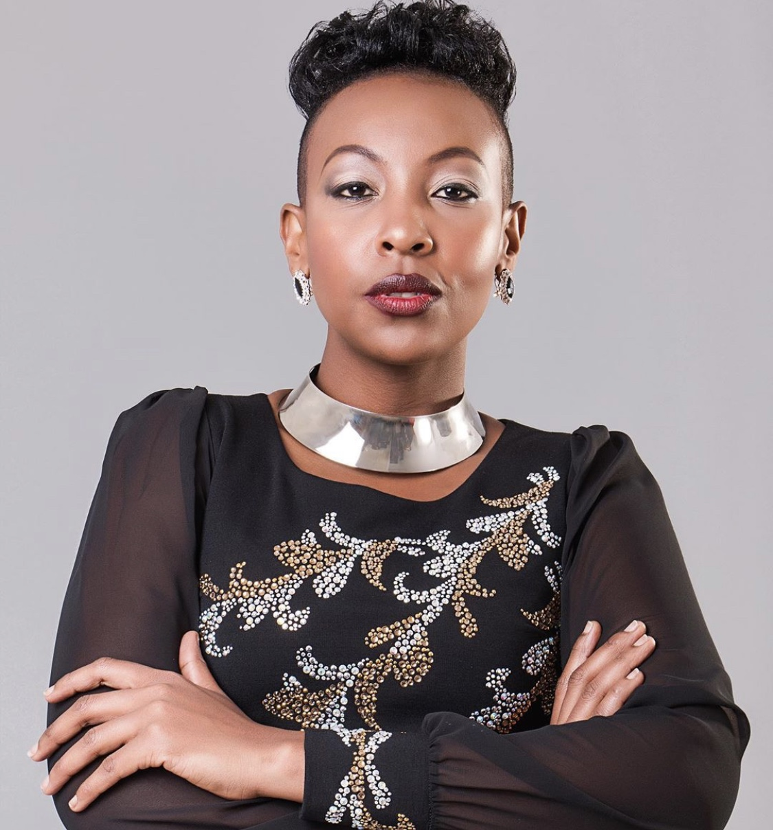 Mwalimu Rachel parades the only balls she squeezes weeks after she allegedly assaulted Miracle Baby's best-friend