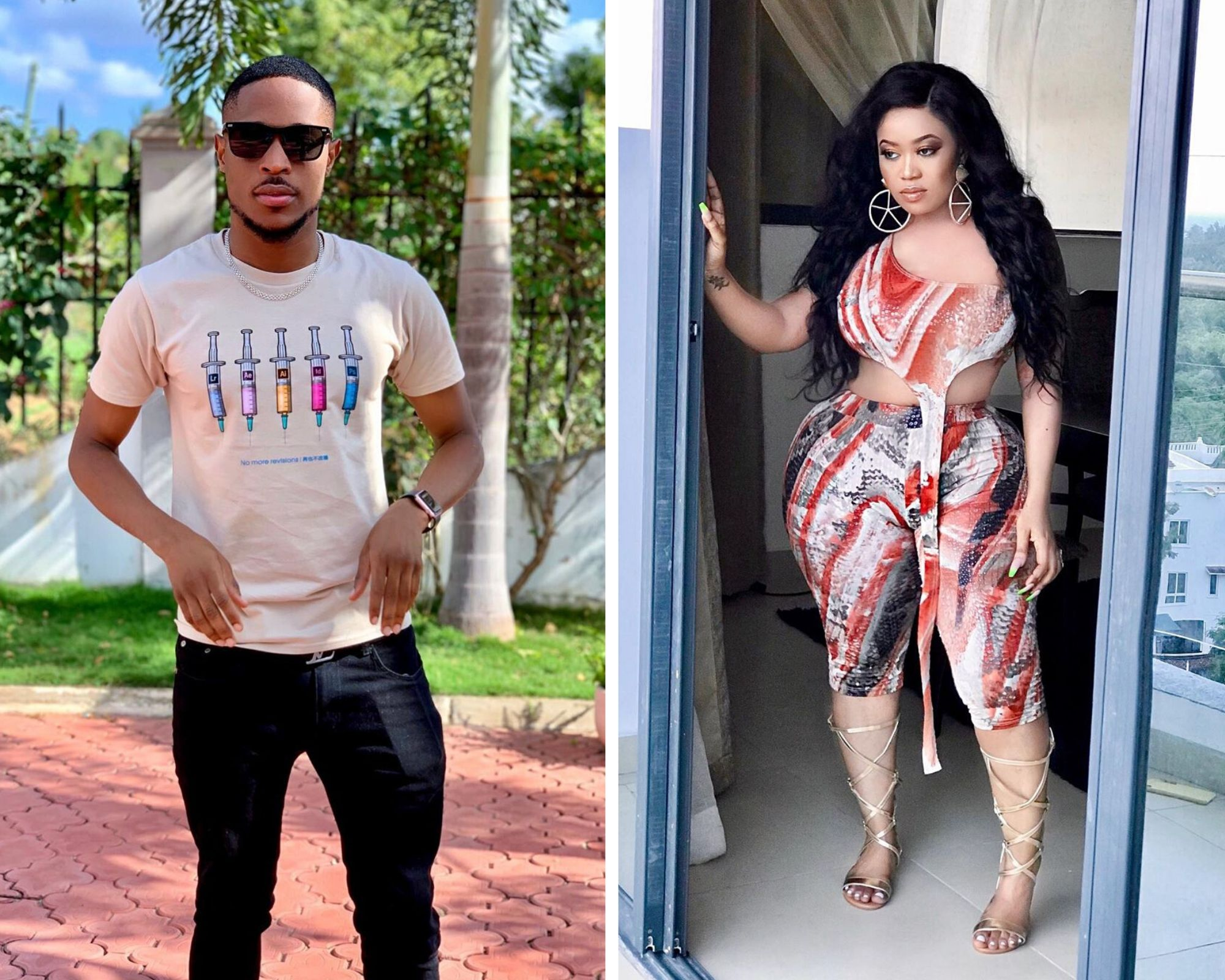 Vera Sidika's ex boyfriend opens up about nasty breakup weeks after socialite's secret wedding with Kenyan singer, Brown Mauzo