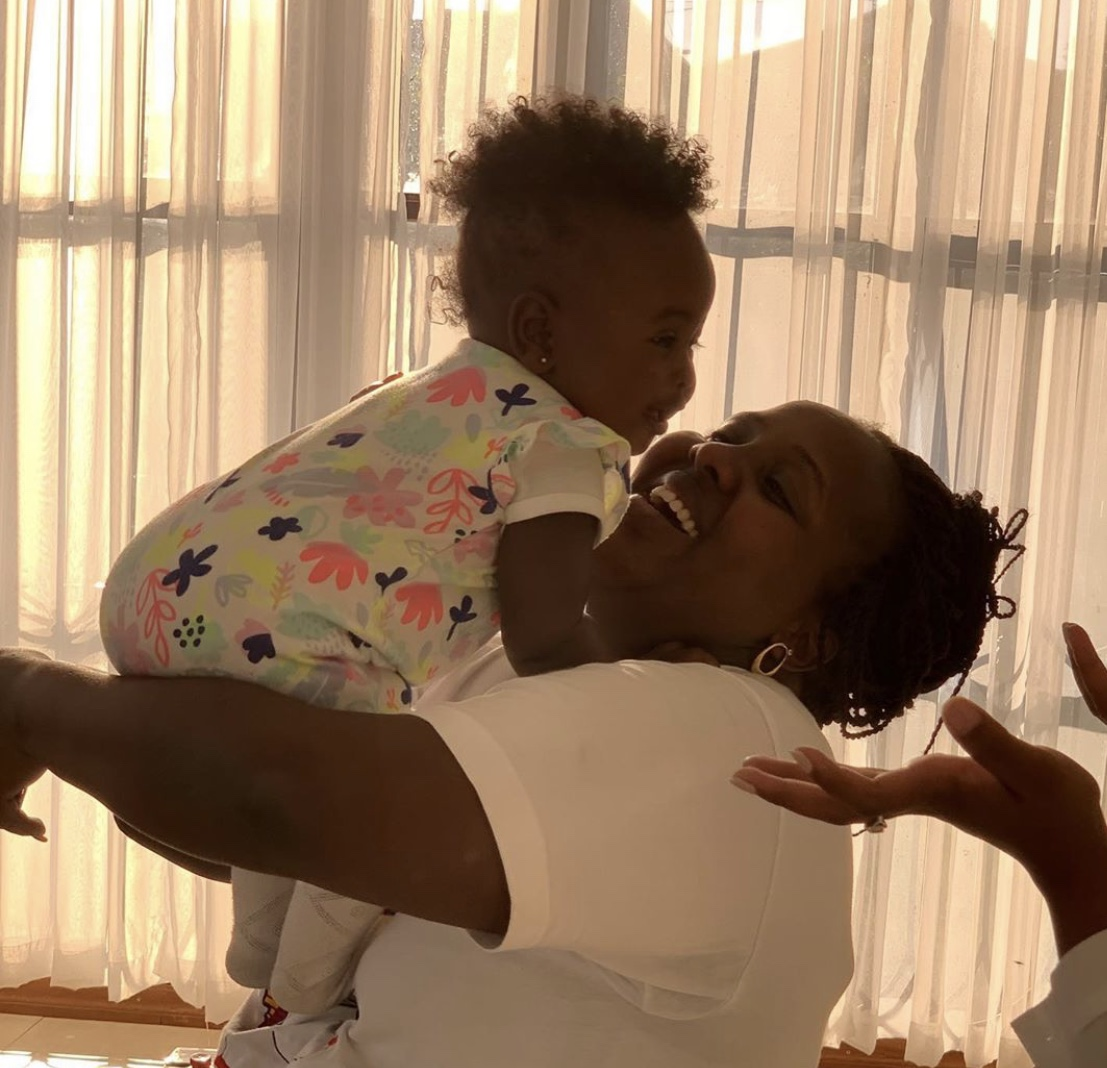 Milly Chebby showers her daughter with love as she celebrates 1st birthday in style!