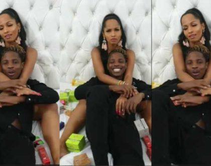 Chantal and Eric Omondi´s cosy bedroom video, raises speculations