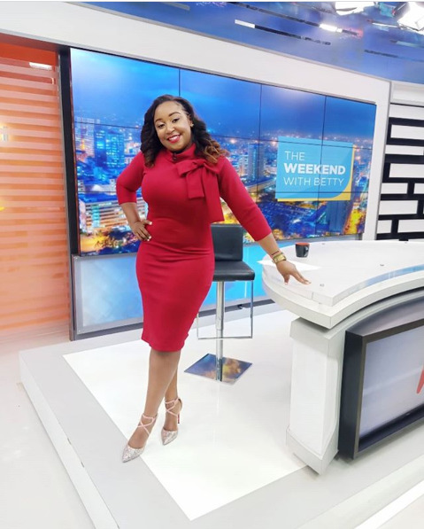 Checkout Betty Kyallo's sexy back workout routine!