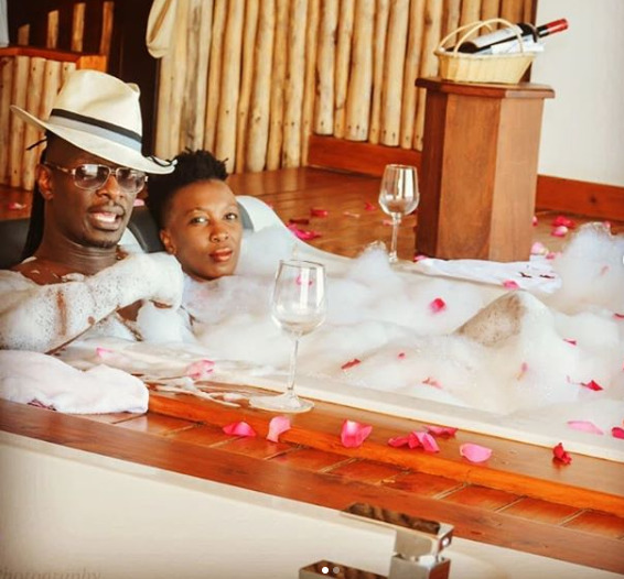 Wahu and Nameless leave Kenyans tripping in recent Jacuzzi snap