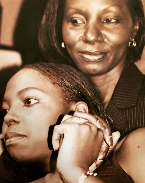 ¨My mum is my forever Valentine...¨ Adelle Onyango sweetly honors late mother