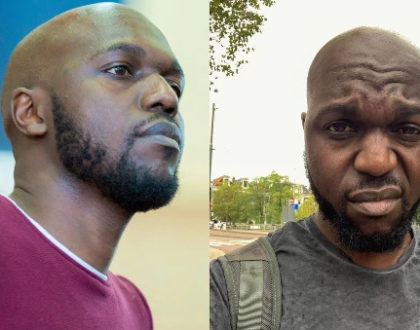 Larry Madowo reacts after a Twitter user ´killed´ him with Coronavirus