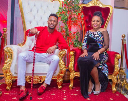 Hilarious reactions as DJ Mo is caught thirsting at his wife´s heavy behind