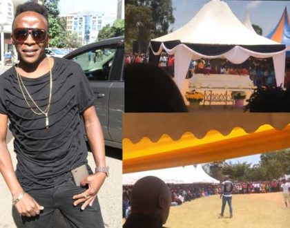 If it was a weekend, most artistes would have shown up - Daddy Owen explains low turn up at Papa Dennis´ burial