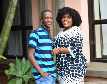 Njugush doesn´t grow fat and people think I don´t cook for him - Celestine cries out