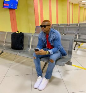 Otile Brown tries out new music style in Wine