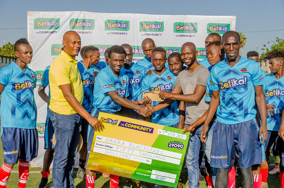 Betika injects more millions in the countrywide drive to boost local teams