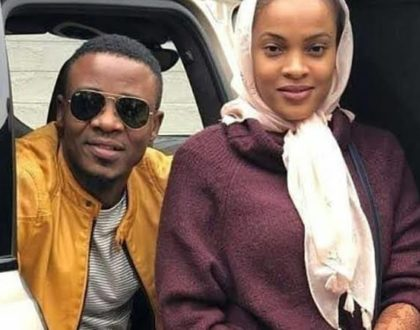 Savage! Alikiba's wife, Amina leaves tongues wagging after dedicating new message to busy bodies around her