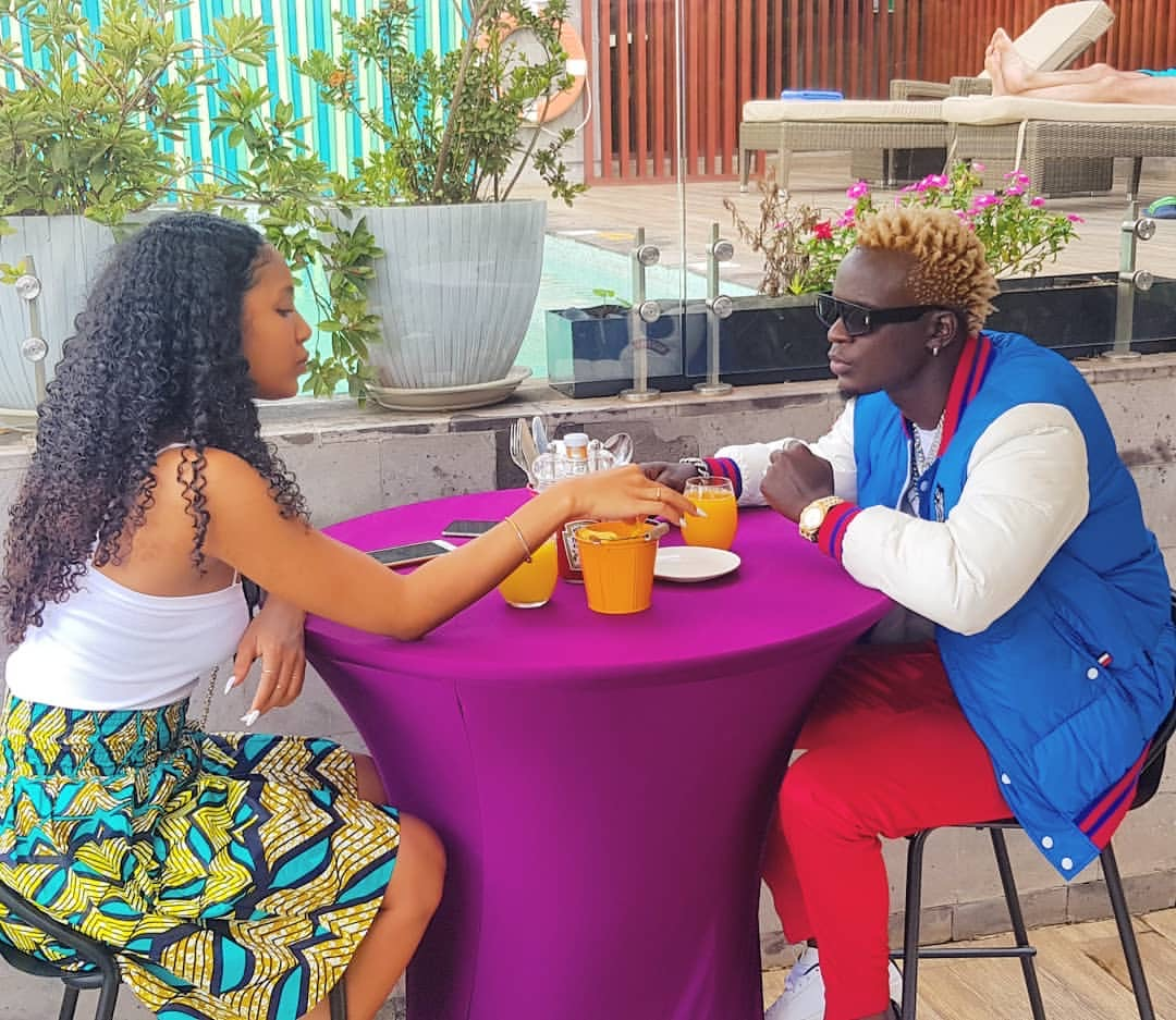 Mtaachana tu! Willy Paul's wife bashed after showing off her grinding skills