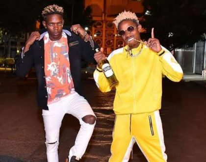 What Fred Omondi wrote to brother Eric Omondi before editing the post!