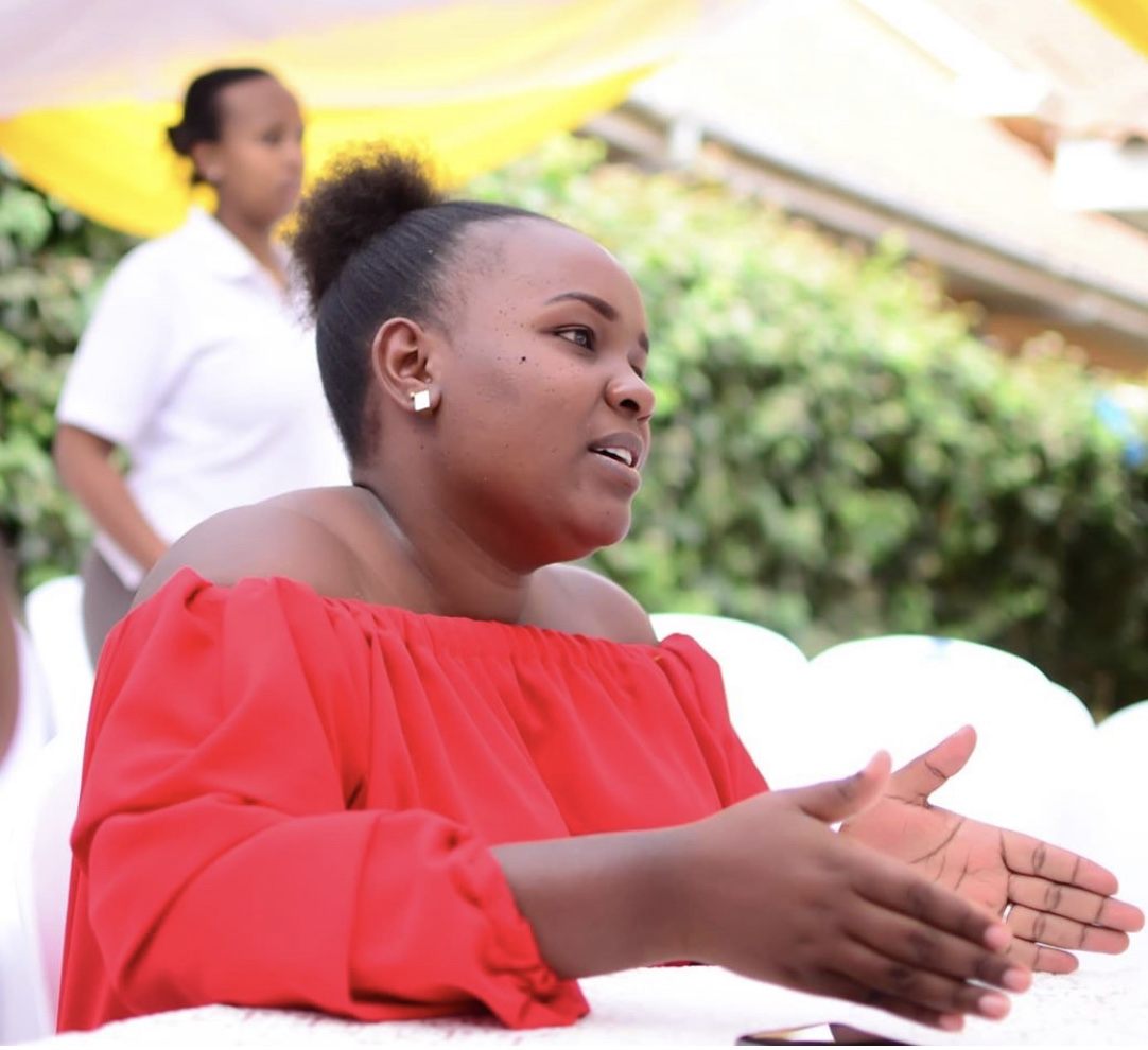 """""""Hauna shingo?"""" Njugush's wife opens up about her struggle with baby fat"""