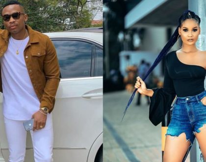 Online fans tear each other apart after Otile Brown publicly shows affection for Hamisa Mobetto