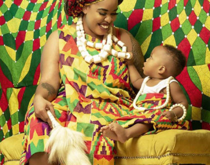¨I have kept aside all evidence for my son about his dad, when he grows up - Bridget Achieng confesses