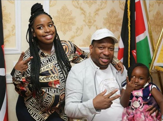 ¨I can´t thank my stars enough for you..¨ Saumu Mbuvi´s emotional post to dad, Mike Sonko as she welcomes 2nd child [photos]