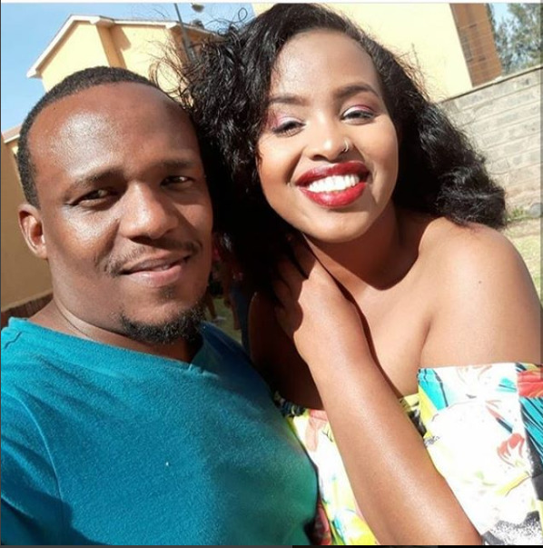 """This man stood by me throughout during labor"" Amina Mude adores hubby, Ben Kitili [video]"