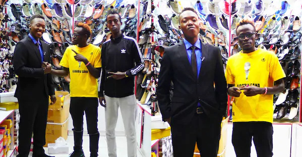 Talented singer, George the street boy, treated to a wardrobe makeover by local comedian [Video]