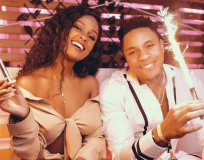 Vanessa Mdee responds to rumors claiming boyfriend, Rotimi beats her up!