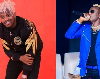 Willy Paul strikes at Rayvanny´s rocky marriage in his new track